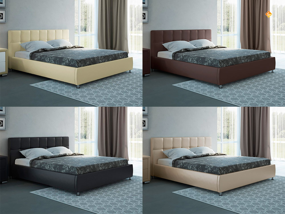 Кровати от производителя по низким ценам с матрасом